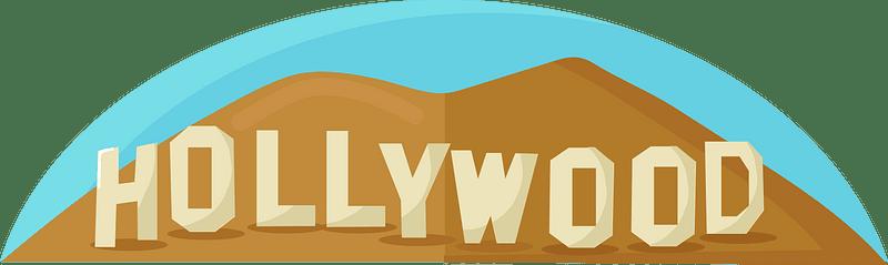 Hollywood clipart