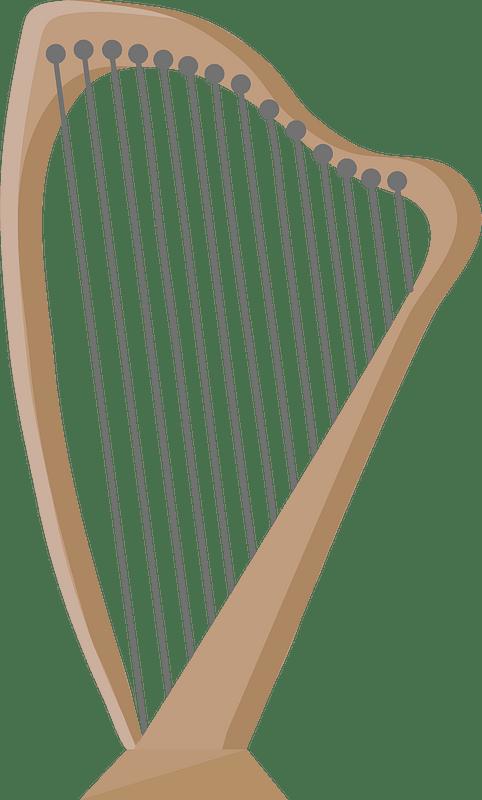 Lever harp clipart