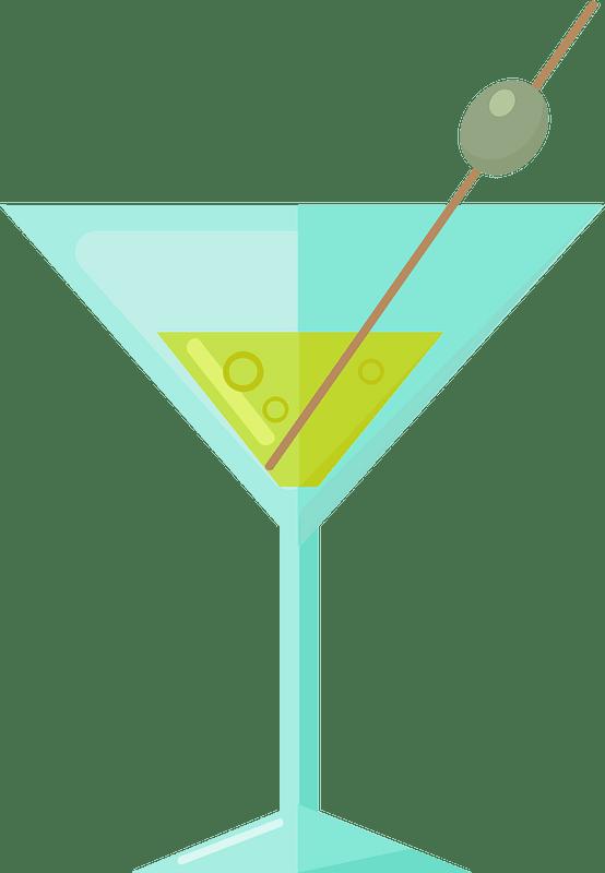 Martini clipart