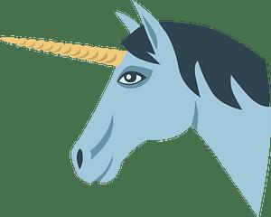 Unicorn head clipart