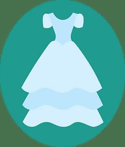 Wedding dress immagine clipart