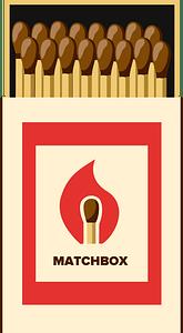 Matchbox clipart
