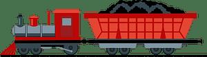 Coal train clipart