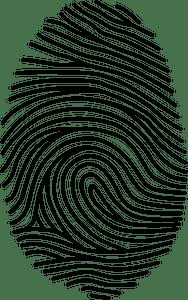 Fingerprint clipart