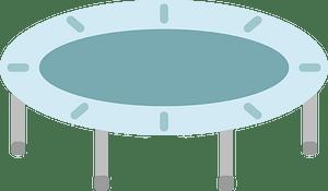 Trampoline clipart