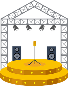 Stage clipart