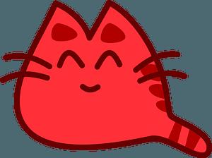 Smiling cat 클립 아트