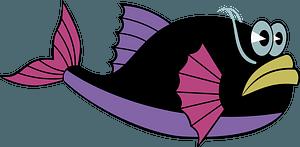 Cartoon fish clipart