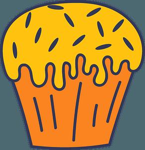 Easter cake clipart