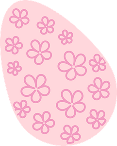 Easter egg clipart
