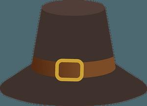 Piligrim hat clipart