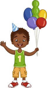 Birthday boy clipart