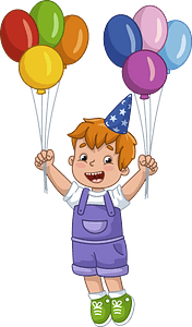 Birthday boy clipart
