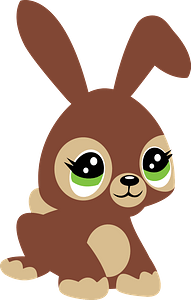 Cute hare clipart