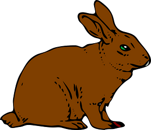 Hare clipart