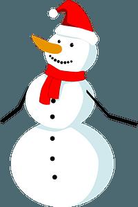 Christmas Snowman clipart