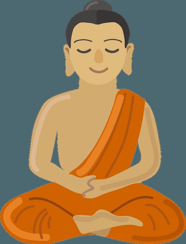 Buddha clipart. Free download transparent .PNG   Creazilla