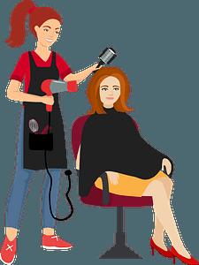 Hairdresser clipart