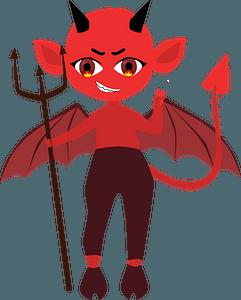 Little devil clipart