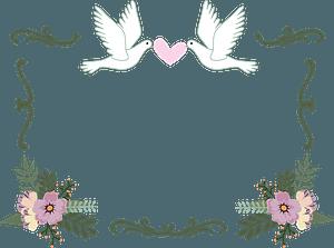 Wedding Border clipart