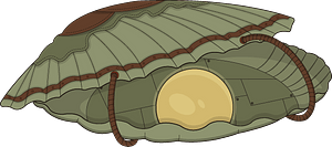 Steampunk Oyster clipart