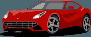 Ferrari F12 clipart