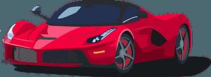 Ferrari Laferrari clipart