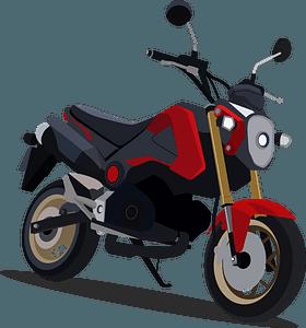Honda Grom clipart