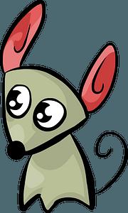 Cartoon mouse 剪贴画
