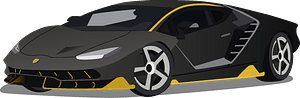 Lamborghini Centenario clipart