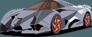 Lamborghini Egoista clipart
