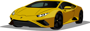 Lamborghini Huracan clipart