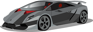 Lamborghini Sesto Elemento clipart