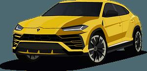 Lamborghini Urus clipart