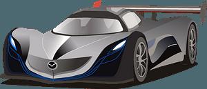 Mazda Furai clipart