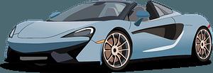 McLaren 570s clipart