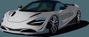 McLaren 720s clipart