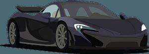 McLaren P1 clipart