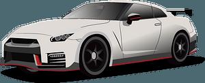 Nissan GT-R Nismo clipart