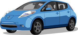 Nissan Leaf clipart
