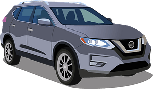Nissan Rogue clipart