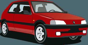 Peugeot 106 clipart