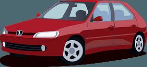 Peugeot 306 clipart