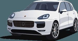 Porsche Cayenne clipart