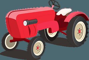 Porsche Traktor clipart