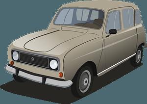 Renault 4l clipart
