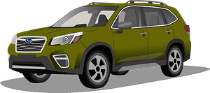 Subaru Forester clipart