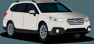 Subaru Outback clipart
