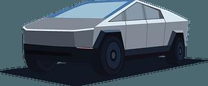 Tesla Cyber Truck clipart