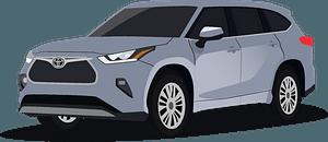 Toyota Highlander clipart